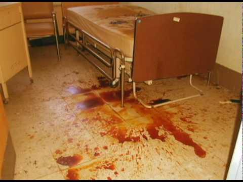 Bloody Bed From Abandoned Lakeland Mental Asylum
