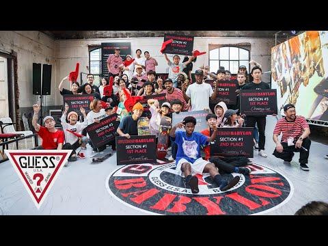 Babylon LA x GUESS Sport Pop-Up & Skatepark ????????