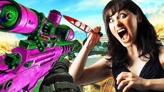 ANGRY GAMER THREATENS TO KILL ME on Call of Duty! (Black Ops 2 Trolling)