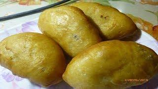 №1.Воздушные, постные пирожки с капустой , долго остаются свежими, при жарки нет дыма.