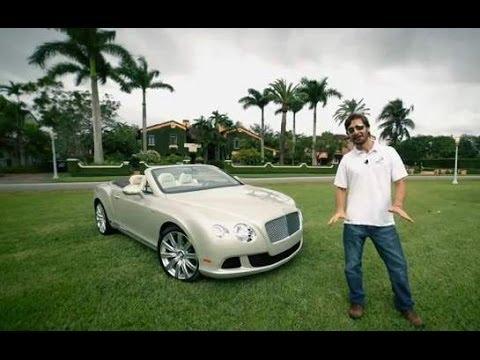 Prueba Bentley Continental GTC 2014 Espaol