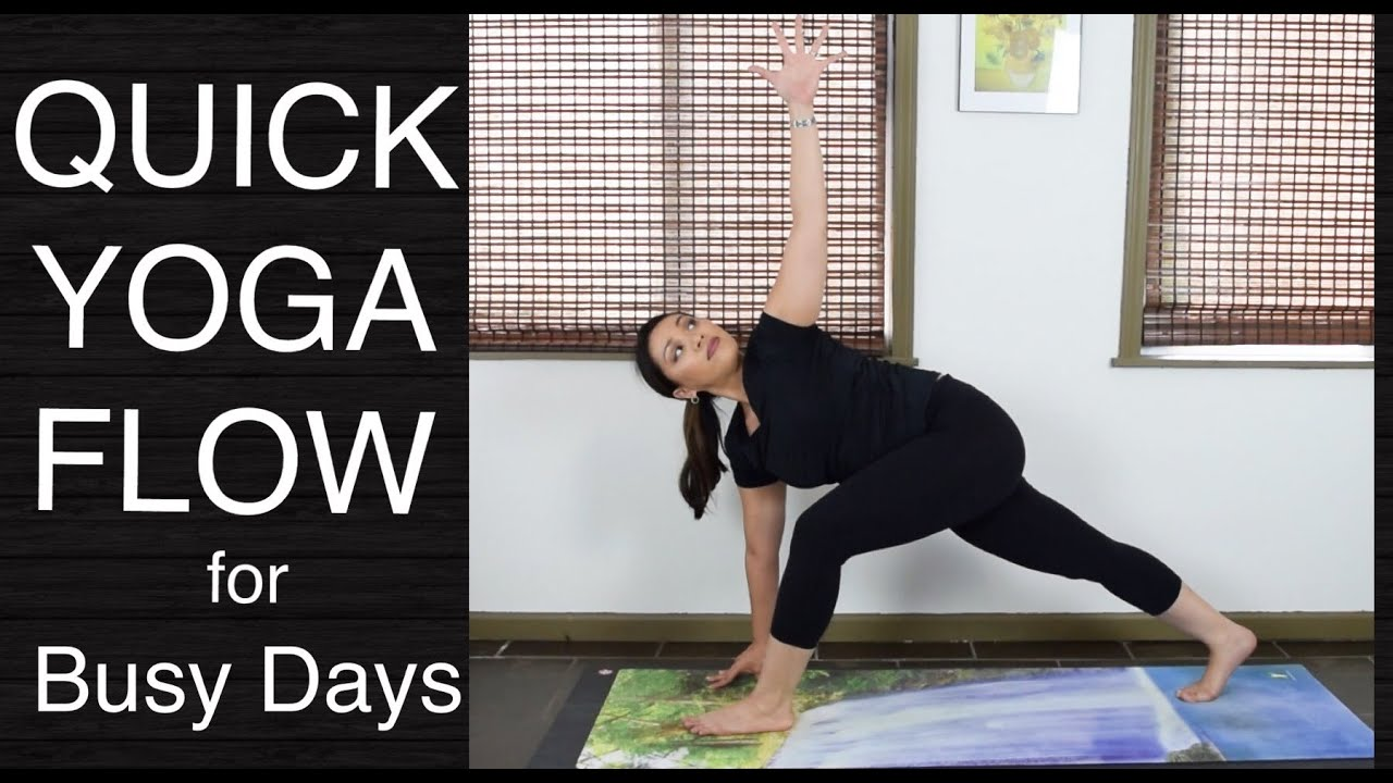 Quick Vinyasa Flow Yoga Intermediate