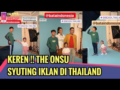 KEREN !! THE ONSU SYUTING IKLAN DI THAILAND | InstaMOP