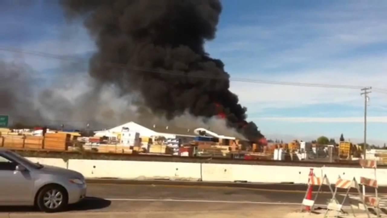 Fire In Salida At BMC