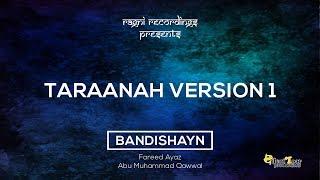 Taraanah 1 - Fareed Ayaz Abu Muhammad Qawwal - Bandishayn - Volume 1