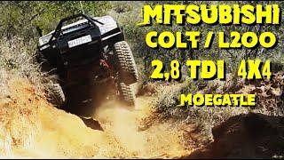 Mitsubishi COLT 2.8 at Moegatle 4x4