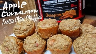Apple Cinnamon Protein Mini Muffins With Kara Corey