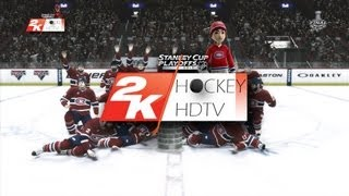 NHL 2K10: 2013 Stanley Cup Final RED WINGS v.s. CANADIENS (game 5)