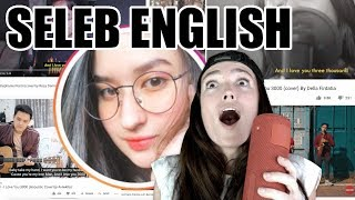Stephanie Poetri dan YG COVER LAGU I LOVE YOU 3000 - Seleb English