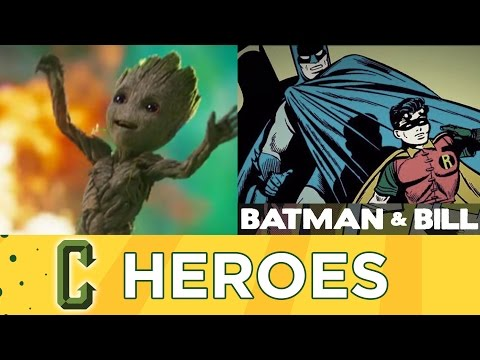 Guardians of the Galaxy Vol. 2 Reaction,  Batman & Bill Review - Collider Heroes