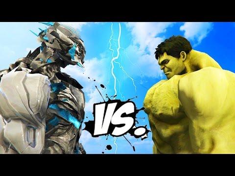 THE HULK vs SAVITAR (the God of Speed)