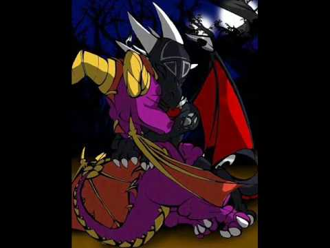 Dragon spyro and cynder mating