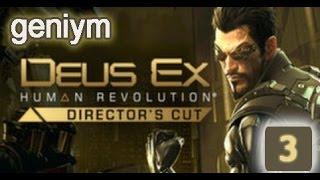 Стелс прохождение Deus Ex: Human Revolution - Director's Cut. (без убийств). Часть 3.