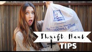 Thrift HAUL + Tips para unas compras eficientes! + LOOKS ♥ thumbnail