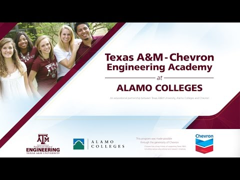 Texas A&M-Chevron Engineering Academies at Alamo Colleges