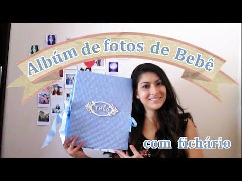 Passo a passo lbum de foto de beb personalizado youtube - Album de fotos personalizado ...