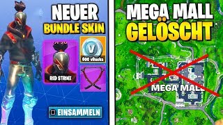 *NEW* Starter Pack Skin Leak 🔥 Mega Mall will BE DELETED | Fortnite Season 10 German