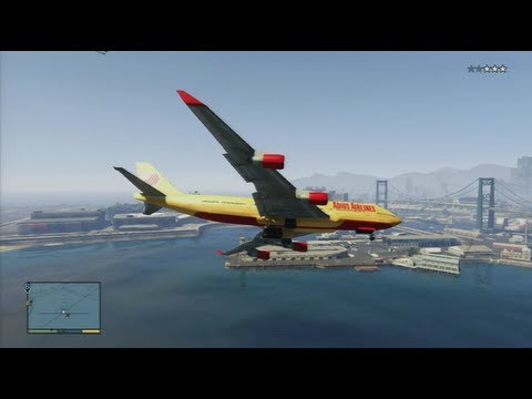 GTA 5 - How To Steal A Jumbo Jet