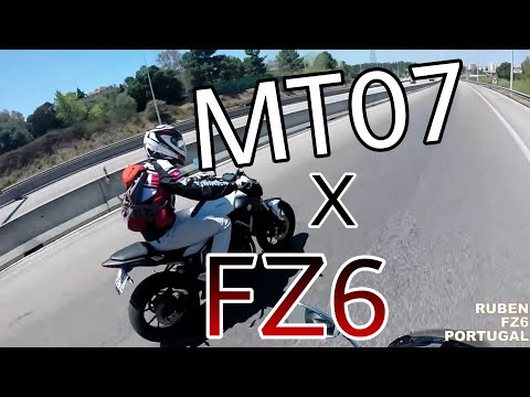 MT07 X FZ6
