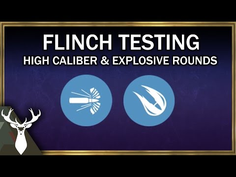 High Caliber & Explosive Rounds - Flinch Tests