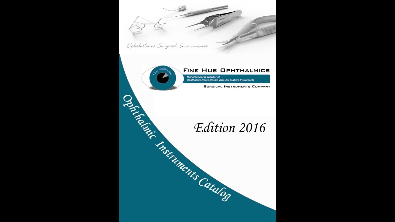 Ophthalmology Instruments | Surgical Instruments Company Sialkot