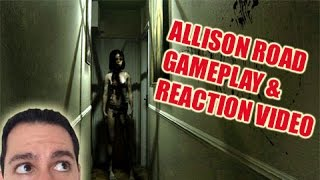 Allison Road Gameplay & Reaction Video | Scariest Game Ever!