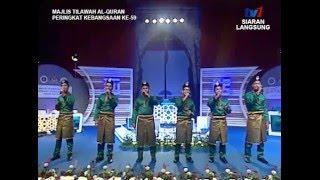Anugerah (SMKAKL) | Live TV1 Show Majlis Tilawah Al-Quran Kebangsaan Ke-59 [2016]