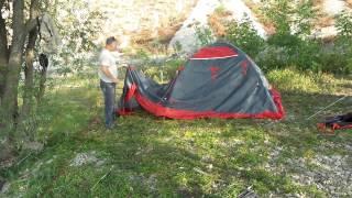 Палатка Tramp Cave-3. Часть-1.(Палатка удобная в сборке. Надежная в эксплуатации при разных погодных условиях. Рассчитана на размещение..., 2014-08-16T04:32:06.000Z)