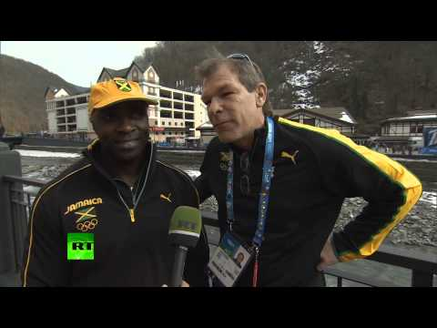 'Sochi receives us like stars'   Iconic Jamaican bobsleigh pilot Winston Watts
