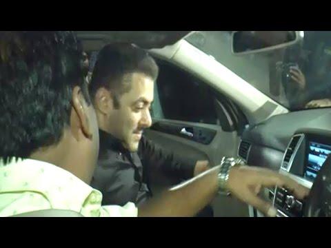 Salman Khan INSIDE His Car Mercedes M-Class SUV