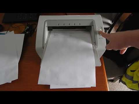How To Print Test Page Samsung ML-2165