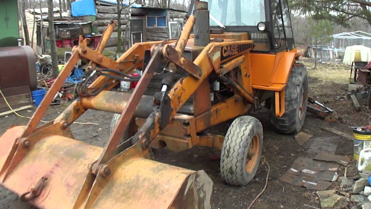 New To Me Case 580c Backhoe Extendahoe