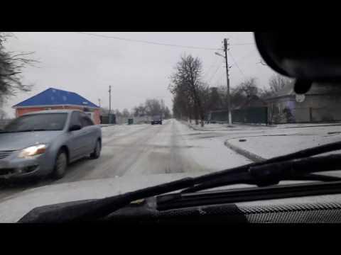 Ужас На Дорогах Украины / С первым днём зимы / Жизнь в Украине Пологи