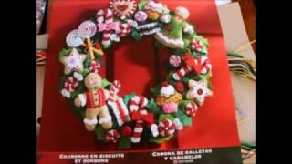 Bucilla / Обзор на набор / Венок из фетра/ Рождество / Новый Год