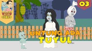 Untung Ada Tuyul ☠Serial Mulkidi Ayul☠Funny Cartoon☠Horor Lucu Serial 03