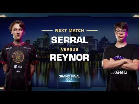 Grand Final: Serral vs Reynor ZvZ - WCS Montreal 2018 - StarCraft II