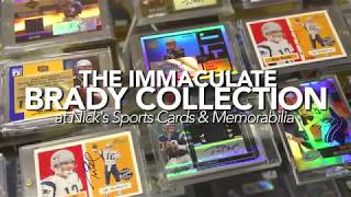 Ultimate Tom Brady Autographed Card Collection Revealed by Nick's Sports Cards