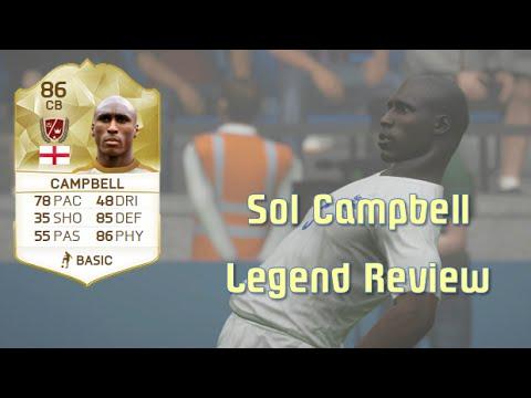 FIFA 16 - Sol Campbell - Legend Review