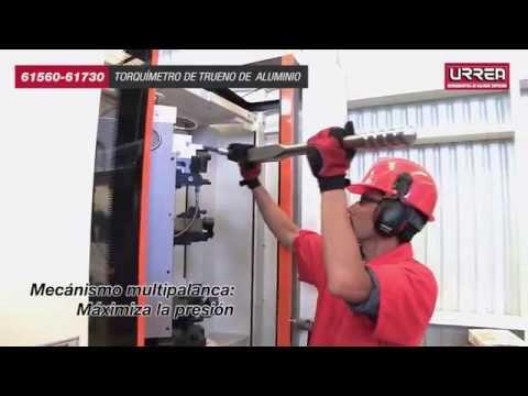 Como usar los torquimetros de Trueno de Aluminio Urrea