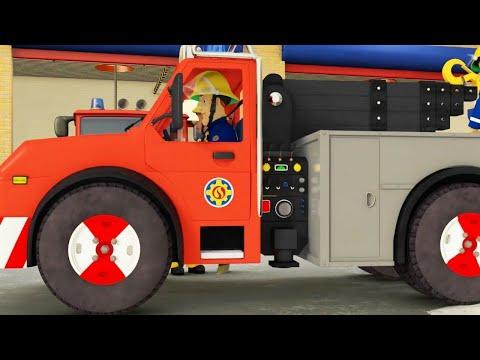 Пожарный Сэм ⭐️ Аварийная ситуация в пожарной машине! | Компиляция | Новые серии 🔥мультфильм