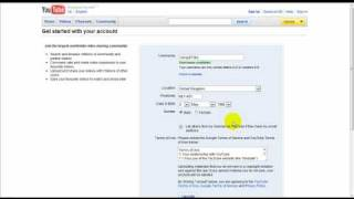 How to Register a Youtube Account