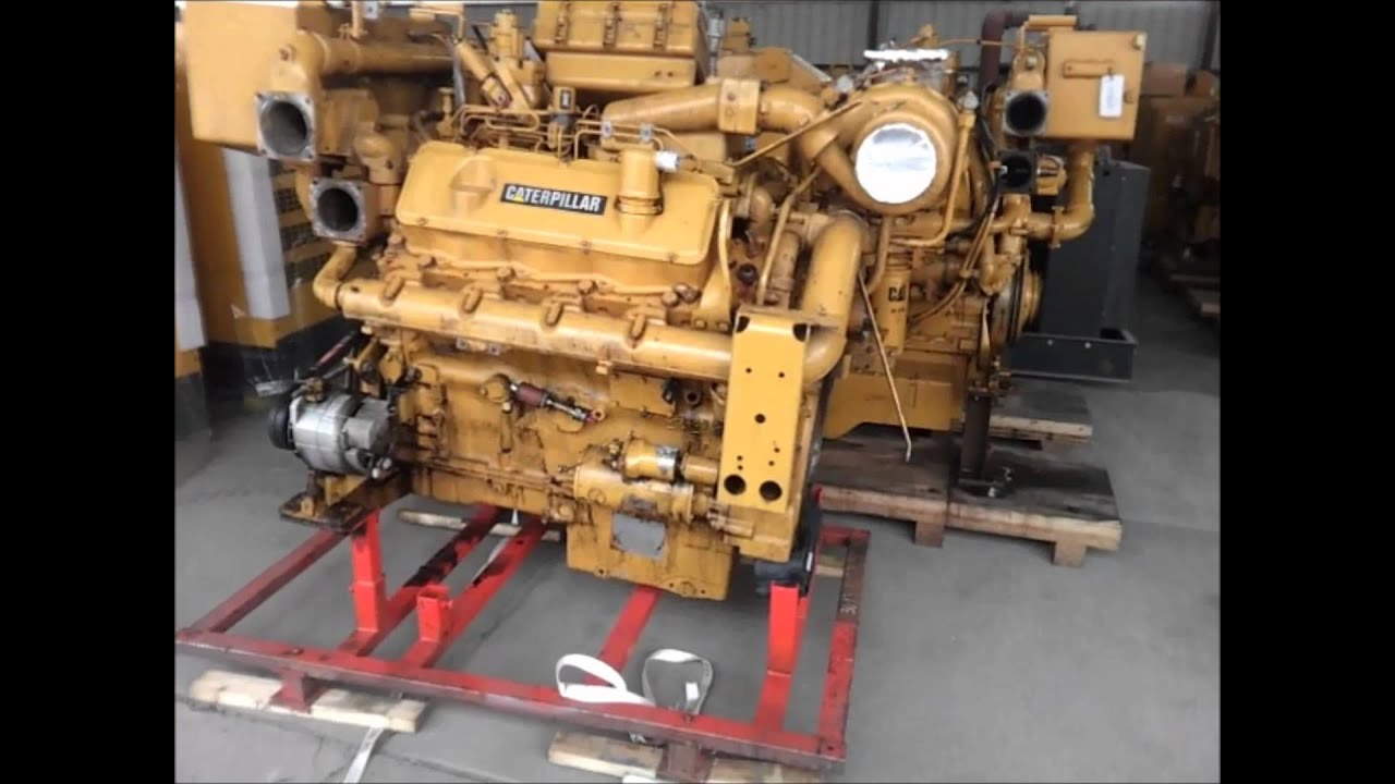 caterpillar 3408 marine engine - youtube cat engine diagram v8 v1 6 cat engine diagram
