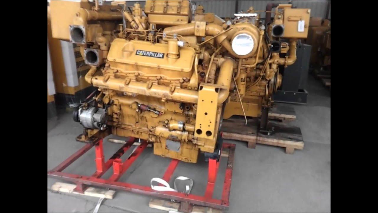 Caterpillar 3408 Marine Engine Youtube
