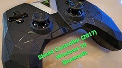 Nvidia Shield Controller (2017) - Connect to Windows 10 via Bluetooth
