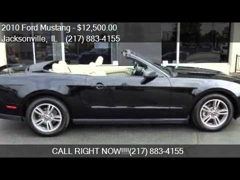 2010 ford mustang v6 premium 2dr convertible for sale in jac youtube. Black Bedroom Furniture Sets. Home Design Ideas
