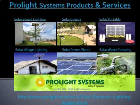 Solar Home Lighting Systems in Bangalore