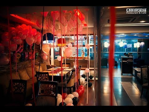 List Of Free And Affordable Birthday Decor Restaurants In Lahore Youtube