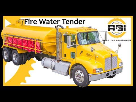 Fire Truck Tanker - 3500 Gallons