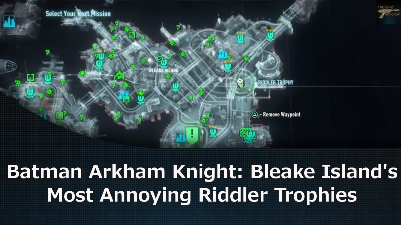 Batman Arkham Knight: Bleake Island's Most Annoying ...