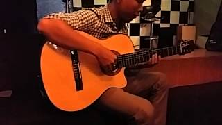 Right here waiting for you - guitar solo vesion
